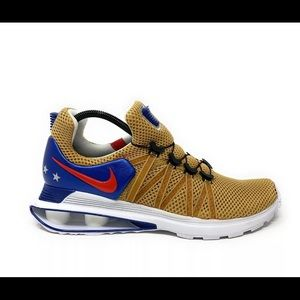 Nike Shox Gravity Gold Red Blue Team USA Olympic